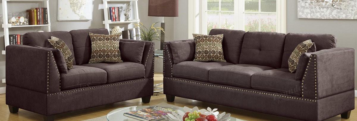 Riverton Sofa & Loveseat (chocolate brown color) - Sofa Sets ...