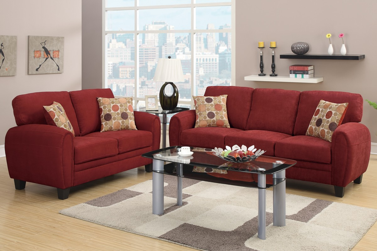 Ruby Sofa and Loveseat - Sofa Sets - Living Room