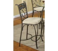 5 Piece Glass Stool