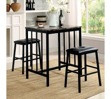 Joleen 3pc. Counter Height Dining Set