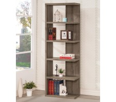 Bradbury Bookshelf in Weathered Gray