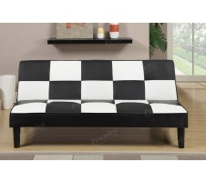 Nacey Sofa Bed -black and white