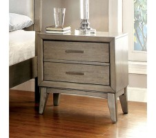Asher Nightstand in grey