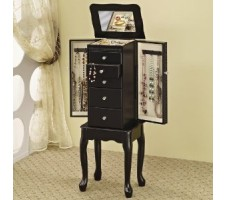 Queen Ann Jewelry Armoire