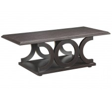 Romania Coffee Table in cappuccino finish