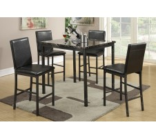 Rio 5pc. Counter Height Dining Set
