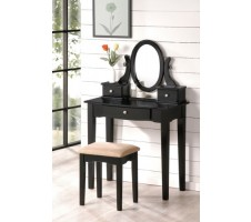 Kinley Vanity Set in black