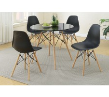 Roe 5 Piece Dining Set