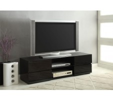 Zuri Tv Stand in glossy black