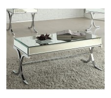 Annette Mirrored Coffee Table
