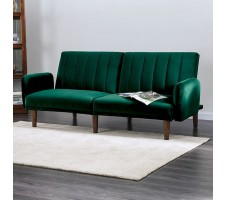 Adrianne Sofa Bed in Green