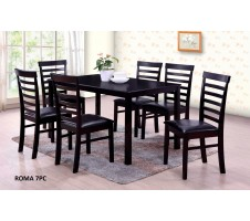 Roma 7pcs Dining Set