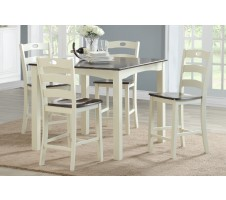 SALE! Coraline 5pc Counter Height Dining Set