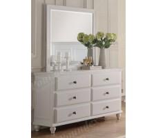 Emilia Dresser in white