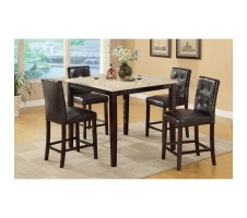 Dominic 5 pcs Counter Height Dining Set