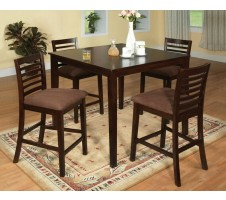 Evert 5pc. Counter Height Dining Set