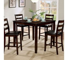 Gloria Ii Counter Height 5pc Dining Set