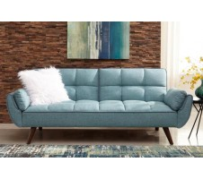 Cheyenne Turquoise Blue Sofa Bed