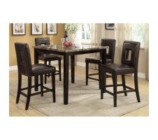 Kurtis 5 Pcs Counter Height Dining Set