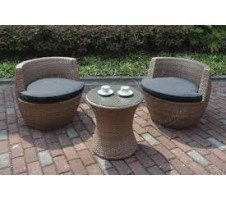 Modway 3pc. Outdoor set in Tan