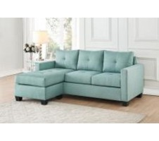 Lodia Reversible Sectional in Teal