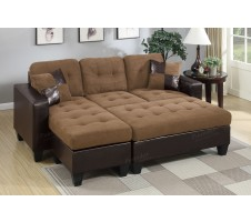 Olympic Reversible Sectional and Ottoman