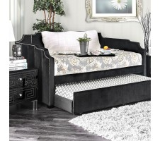 Esperanza Day Bed and Trundle in Black