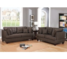 SALE! Laurel 2pc Sofa and Loveseat