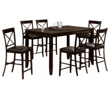 7pc. Seattle Counter Height Dining Set