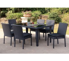 Summon 7pc Outdoor Dining Set