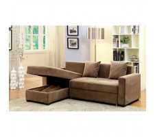 Prado Sectional pull out with storage Chaise