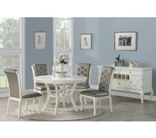 Anisa 5pc. Dining Set in White