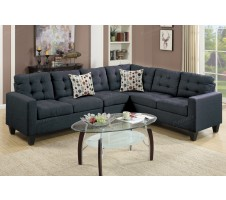Peta Fabric Sectional Sofa