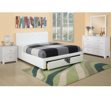Clarice 4pc. Platform Bedroom Set with Drawer