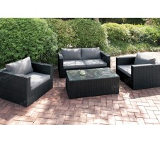 St Lucia 5pc. Outdoor Seating Set