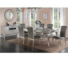 Allora 7pc dining set with extension leaf