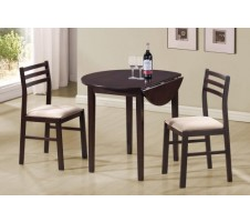 Cappucino Breakfast Dining Table + 2 Chairs