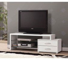 Cyrix TV Stand - White