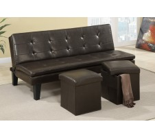 Winston Sofa Bed with Ottomans