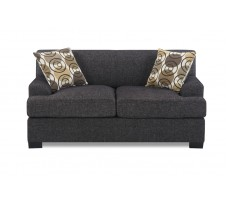 Damascus Loveseat - Charcoal