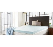 2 Inch Gel Infused Memory Foam Mattress Topper - Queen size