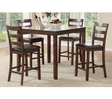 Roy 5pc. Counter Height Dining set