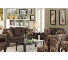 Burton Sofa and Loveseat -chocolate