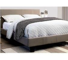 Winn Park Bed - Light Grey Fabric
